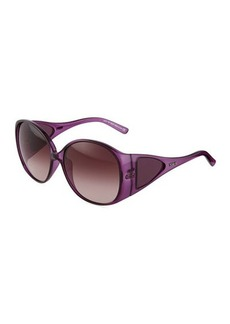 Tod's Violet Injected Butterfly Sunglasses  Violet Injected Butterfly Sunglasses