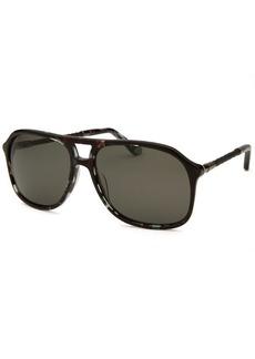 Tod's Women's Aviator Black Sunglasses