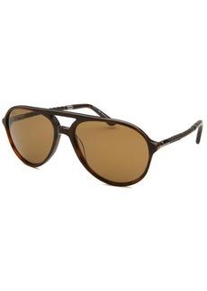 Tod's Women's Aviator Dark Havana Sunglasses