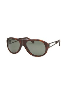 Tod's Women's Aviator Dark Havana Sunglasses