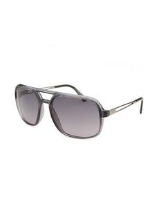 Tod's Women's Aviator Translucent Grey Sunglasses
