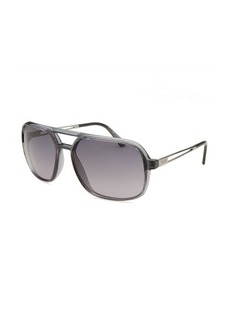 Tod's Women's Aviator Translucent Grey Sunglasses