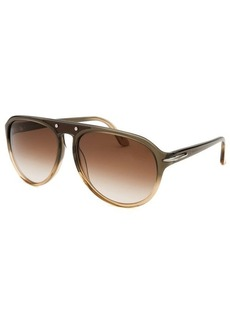 Tod's Women's Aviator Translucent Sunglasses