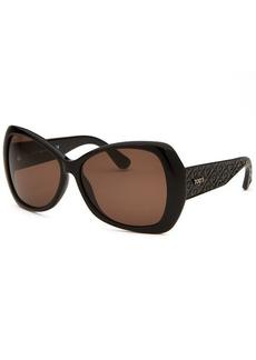 Tod's Women's Butterfly Black Sunglasses