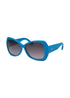 Tod's Women's Butterfly Blue Sunglasses