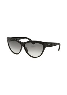Tod's Women's Cat Eye Black Sunglasses