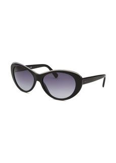 Tod's Women's Cat Eye Black Sunglasses