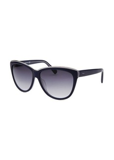Tod's Women's Cat Eye Blue Sunglasses