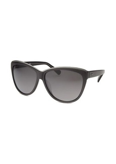 Tod's Women's Cat Eye Gunmetal Sunglasses