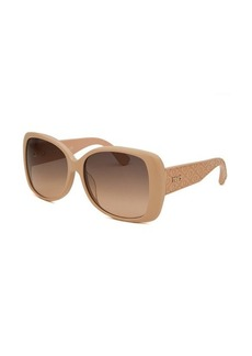 Tod's Women's Oversized Beige Sunglasses
