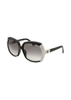 Tod's Women's Oversized Black Sunglasses