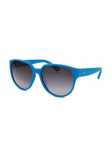 Tod's Women's Oversized Blue Sunglasses