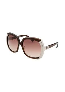 Tod's Women's Oversized Brown Sunglasses