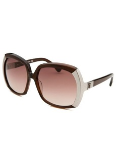 Tod's Women's Oversized Brown Sunglasses