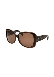 Tod's Women's Oversized Havana Sunglasses