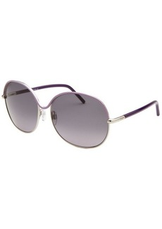Tod's Women's Oversized Purple Glasses