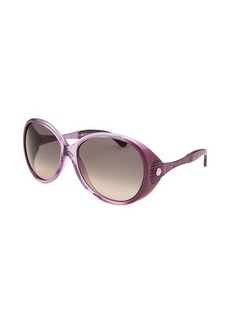 Tod's Women's Oversized Purple Gradient Sunglasses