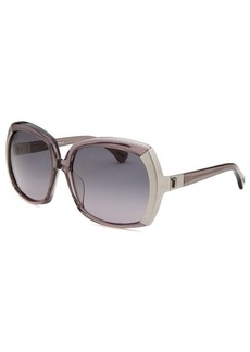 Tod's Women's Oversized Translucent Grey Glasses