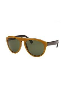 Tod's Women's Round Brown Sunglasses