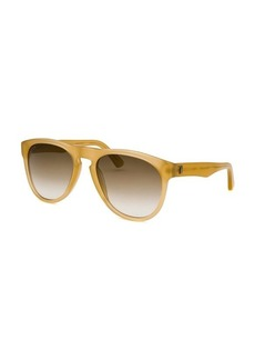 Tod's Women's Round Light Brown Sunglasses
