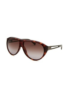 Tod's Women's Shield Havana Sunglasses