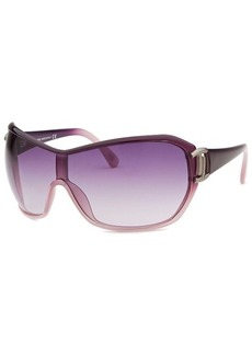 Tod's Women's Shield Purple Translucent Sunglasses