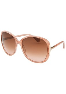 Tod's Women's Square Blush Sunglasses