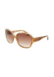 Tod's Women's Square Brown Horn Sunglasses