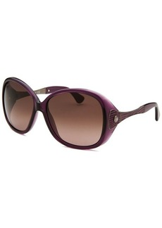 Tod's Women's Square Purple Sunglasses