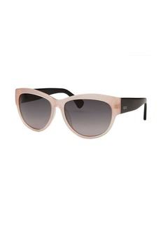 Tod's Women's Square Translucent Pink Sunglasses