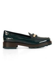 Tod's Woven-edge leather loafers