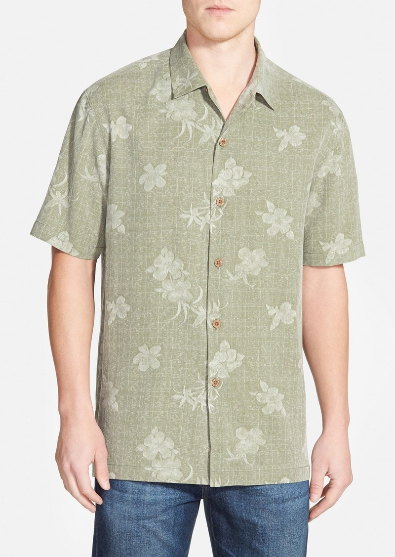 Tommy bahama tommy bahama 39 aloha floral 39 original fit silk for Do tommy bahama shirts run big