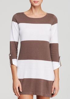 Tommy Bahama Beach Sweaters Bold Stripe Swim Cover Up