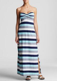 Tommy Bahama Bold Stripe Swim Cover Up Maxi Dress