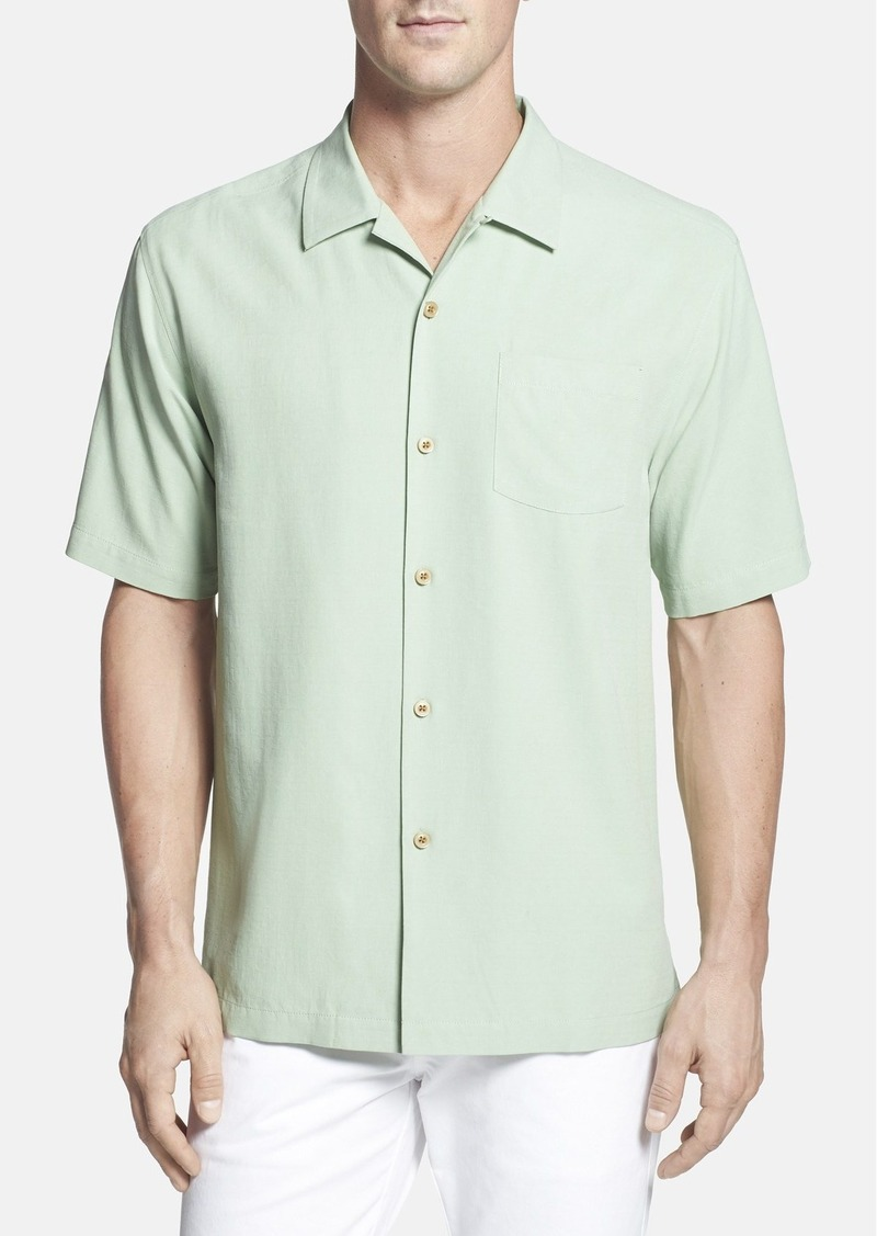 Tommy bahama tommy bahama 39 dobby 39 original fit silk camp for Do tommy bahama shirts run big