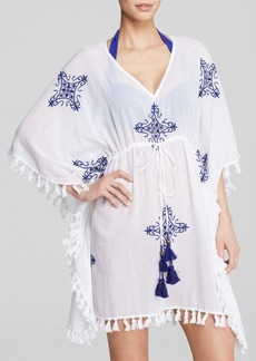 Tommy Bahama Embroidered Medallion Tunic Swim Cover Up