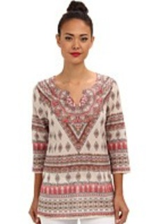 Tommy Bahama Firefly Foulard Floral Tunic