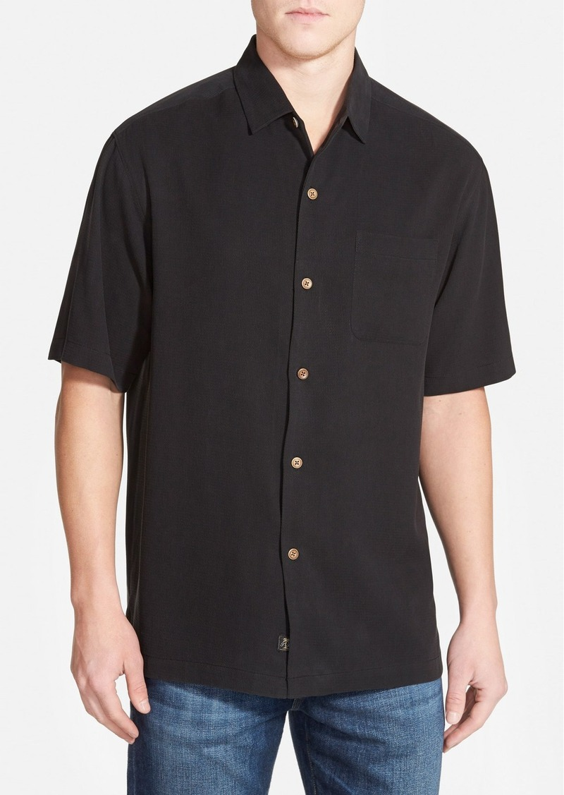 Tommy bahama 39 golf match 39 original fit embroidered silk for Tommy bahama embroidered silk camp shirt