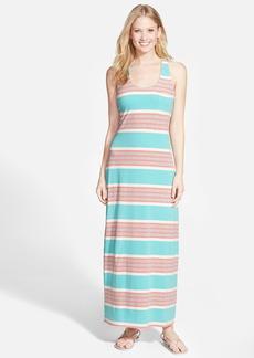 Tommy Bahama 'Keefe Stripe' Cross Back Maxi Dress