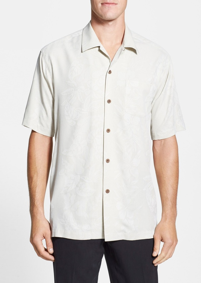 Tommy bahama tommy bahama 39 palms over paradise 39 original for Tommy bahama embroidered silk camp shirt