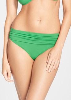 Tommy Bahama 'Pearl' High Waist Bikini Bottoms (UPF 50+)