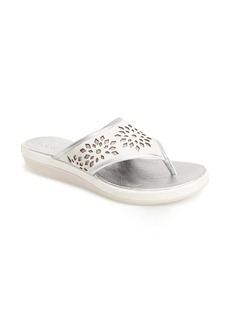 Tommy Bahama 'Relaxology Collection - Idelle' Perforated Leather Sandal (Women)