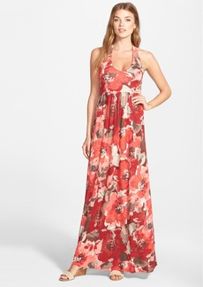 Tommy Bahama 'Ruby Beach' Floral Print Halter Maxi Dress