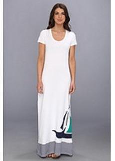 Tommy Bahama Sailboat Long T-Shirt Dress