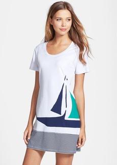 Tommy Bahama Sailboat Stripe T-Shirt Dress