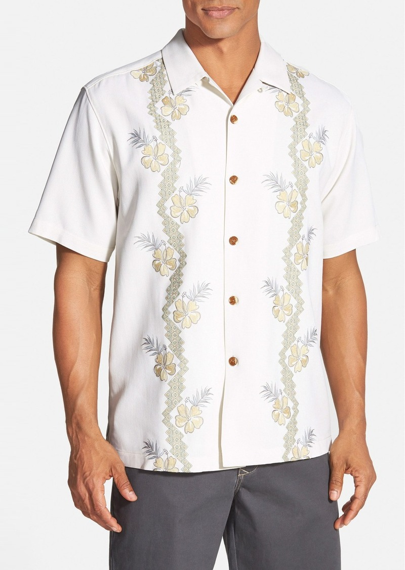 Tommy bahama tommy bahama 39 strada vines 39 original fit for Tommy bahama embroidered silk camp shirt