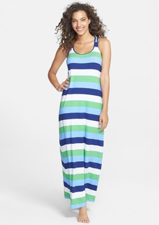 Tommy Bahama Stripe Racerback Tank Maxi Dress