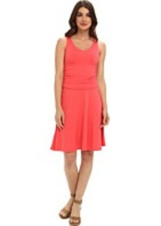 Tommy Bahama Tambour V Shirred Dress