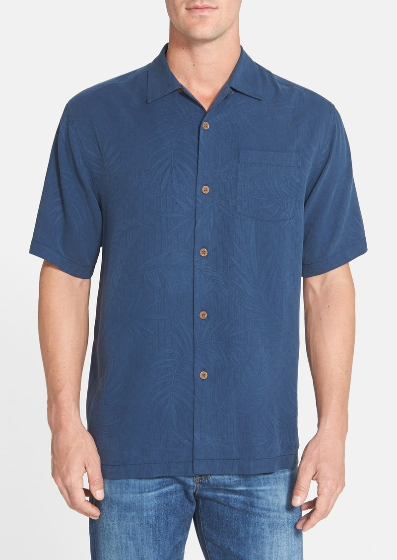 Tommy bahama tommy bahama 39 tiki palms 39 original fit for Tommy bahama embroidered silk camp shirt