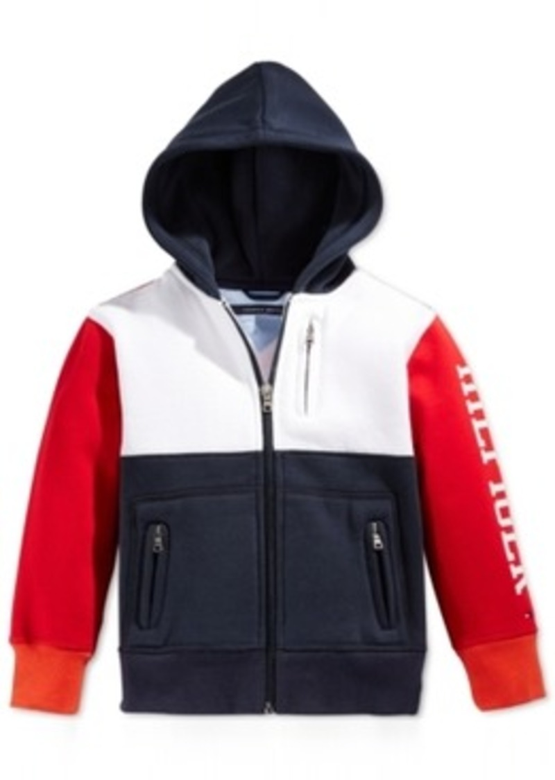 tommy hilfiger tommy hilfiger boys 39 americana zip hoodie. Black Bedroom Furniture Sets. Home Design Ideas